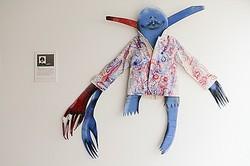 ジャケットがキャンバスになったアート展 代々木ビレッジ内で開催
