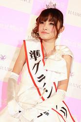 準グランプリの蒔田優衣さん