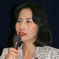22日、日本外国特派員協会で「JETプログラム」の意義を語る松島みどり外務大臣政務官(撮影:佐谷恭)