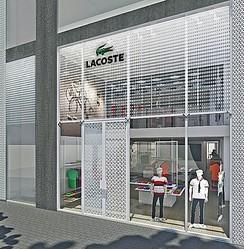 アジア初 渋谷にラコステの旗艦店がオープン