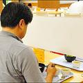 京大の「ぼっち席」で食べてみた