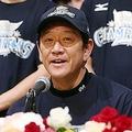 日本一に輝き、記者会見で喜びを語る日本ハム・栗山監督(C)KYODO NEWS IMAGES