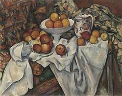 ポール・セザンヌ 《りんごとオレンジ》 1899年頃 オルセー美術館 ©RMN (Musée d