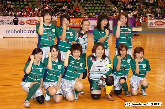 画像】YOTSUYA CLOVERS/フットサル スフィアリーグ - ライブドアニュース