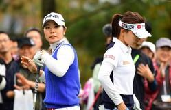 優勝したテレサ・ルー(右)を最後まで追い詰めた比嘉真美子(撮影:上山敬太)