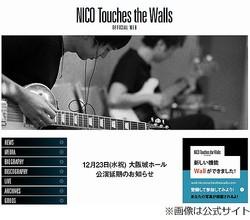 扉に手首挟まれギタリスト骨折、NICO Touches the Wallsの公演延期。