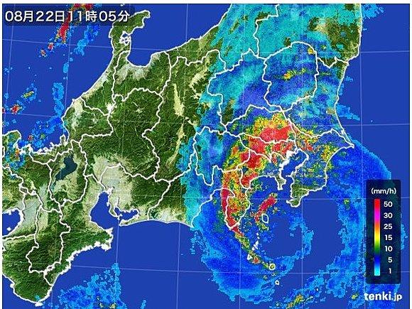 レーダー 東京 雨雲