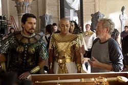 『エクソダス:神と王』撮影風景(C)2014 Twentieth Century Fox Film Corporation All Rights Reserved.