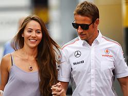 道端ジェシカと婚約者のジェンソン・バトン  - Lars Baron / Getty Images Sport