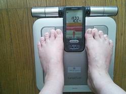 体重計の目盛りが増えるほど記憶力が減る!