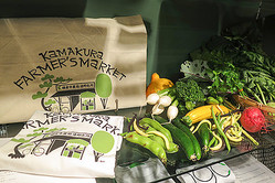 パタゴニアとビームスが鎌倉野菜の即売所オフィシャルTシャツ制作