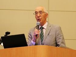 クリルオイル研究会代表の早稲田大学 ナノ・ライフ創新研究機構の矢澤一良教授