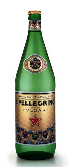 サンペレグリノがブルガリとコラボレーション『S. Pellegrino sparkles with Bulgari』を発売!