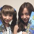入来茉里と板野友美(画像は『板野友美 Instagram』より)