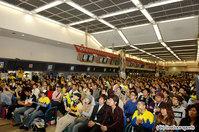 """会場一番乗りのファンは、神奈川県から1人きりで訪れた女性で昨日(1日)の""""夜22時""""に来場"""