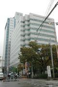 大阪市内の阪神電鉄本社ビル。(資料写真:常井健一)