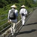 """約1200年前に弘法大師が歩いた道を巡拝する四国お遍路。中には""""遍路ころがし""""と呼ばれる険しい山道も存在する。(C)JTA/(C)JNTO"""