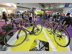 自転車の見本市「台北サイクルショー2016」の模様