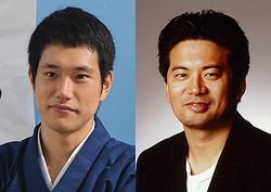 左から松山ケンイチ、森田芳光