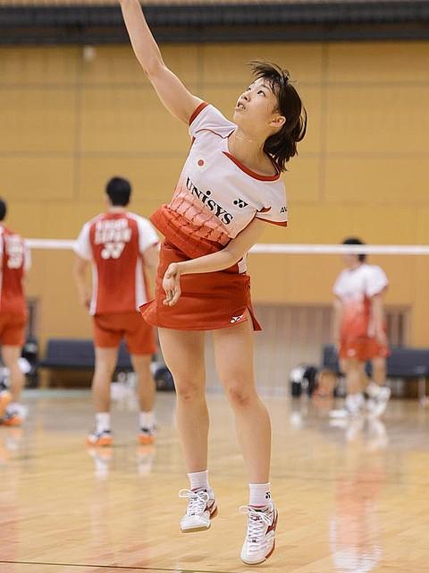 松友美佐紀/バドミントン日本代表強化合宿