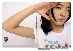 「K・SWISS」ブランドアイコンに川島海荷起用 原宿をジャック