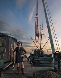 釣りがテーマ クリスチャン・ルブタンの春夏広告