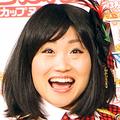 """""""てんぐ""""報道にへこむキンタロー。  - (写真は4月撮影のもの)"""