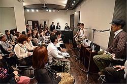 「音楽の新しい楽しみ方」体験会に登場したSEAMOさん、mihimaru GT
