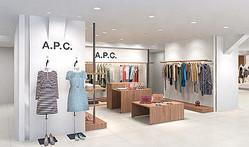 A.P.C.がウィメンズショップを松屋銀座にオープン