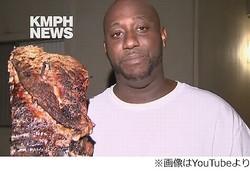 """火事から家族と""""肉""""救った男「朝の3時だ。腹が減ってたんだよ」。"""