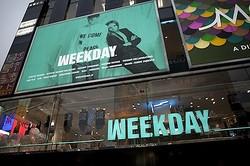 H&M傘下「ウィークデイ」アジア1号店、初公開
