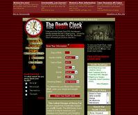 寿命を教えてくれるサイト「The Death Clock」