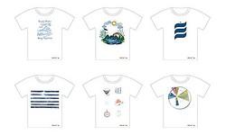 グローバルワークから音が出るTシャツ「着る絵本」宮沢賢治作品を朗読
