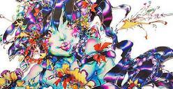 アイドルと伝統技法を融合したアートの世界、DIESELデニムギャラリーで開催