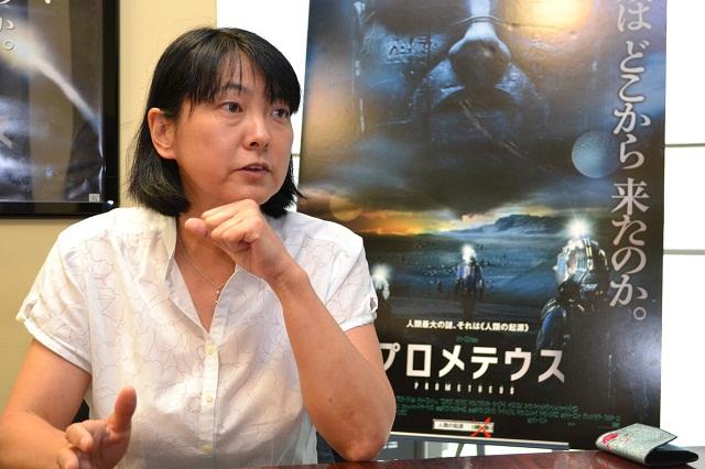 インタビュー:横山智佐子「監督が旦那さんなら編集者は奥さん」