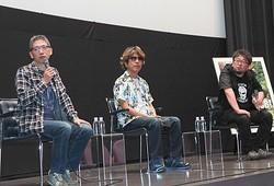 『WOOD JOB!』撮影の裏側を語った(左から)矢口史靖監督、佛田洋監督、樋口真嗣