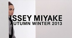 イッセイミヤケ色と柄の世界 2013年秋冬ムービー公開