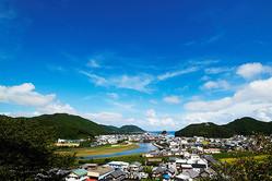 徳島県美波町の中心部。自然と文化と歴史が凝縮されている
