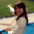 W杯開幕戦をレポートした大島優子 (画像はinstagram.com/yuk00shimaより)