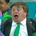 写真はYoutube「Coach Miguel Herrera was the undoubted star of Mexico's 3-1 win over Croatia」のキャプチャ