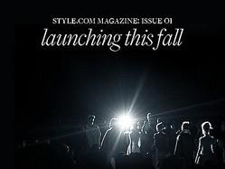 ファッションサイトの草分けStyle.comが雑誌化 ECも