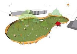 熊谷に新複合施設「NEWLAND」クレーン教習所跡地を再利用