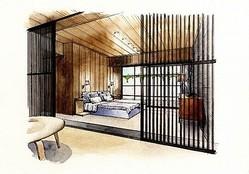 ユナイテッドアローズの住空間プロジェクト第2弾はゲストルームを監修