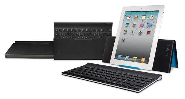 外出中でもiPadを快適にキータッチ!『ロジクール タブレット キーボード For iPad』