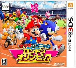 3DS「マリオ&ソニック AT ロンドンオリンピック」発売
