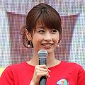 フジテレビの加藤綾子アナは『めざましテレビ』に加え、『バイキング』の火曜・木曜日に出演。生放送が2本になったことで、より激務になった