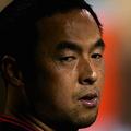 ここ数年苦しいシーズンが続く松中信彦は、背水の覚悟で挑む2015年に輝きを取り戻せるか[Getty Images]