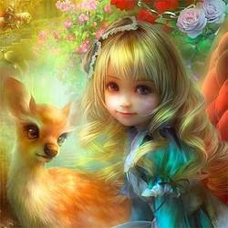 パズル「不思議の国のアリス」絵師・SHUが展示会を開催 画家デビュー10周年
