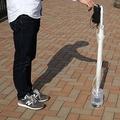 ドラえもんのひみつ道具 「たずね人ステッキ」を傘で再現