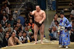 白鵬 (C)日本相撲協会